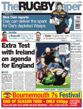 The Rugby Paper 5th April 2015