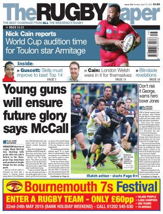 The Rugby Paper 19th April 2015