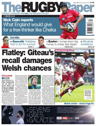 The Rugby Paper 26th April 2015