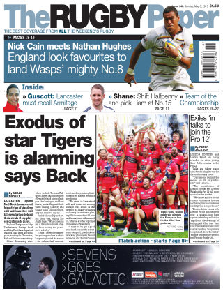 The Rugby Paper 3rd May 2015