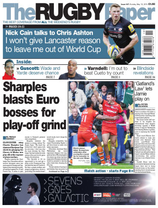 The Rugby Paper 10th May 2015