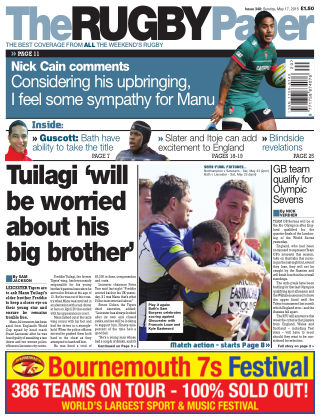 The Rugby Paper 17th May 2015