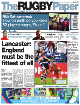 The Rugby Paper 24th May 2015