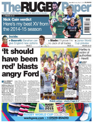 The Rugby Paper 31st May 2015