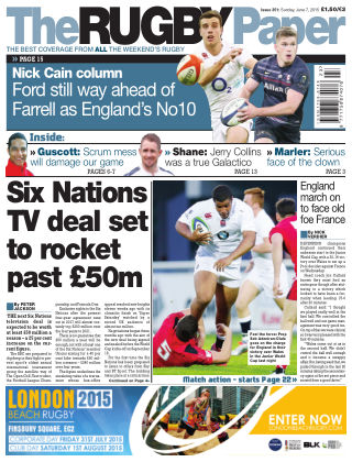 The Rugby Paper 7th June 2015