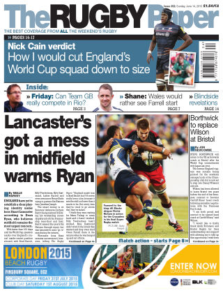The Rugby Paper 14th June 2015