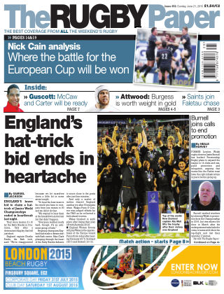 The Rugby Paper 21st June 2015