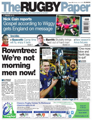 The Rugby Paper 5th July 2015