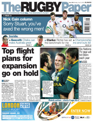 The Rugby Paper 12th July 2015