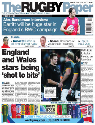 The Rugby Paper 26th July 2015