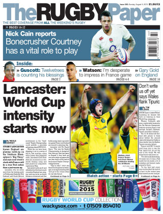 The Rugby Paper 9th August 2015
