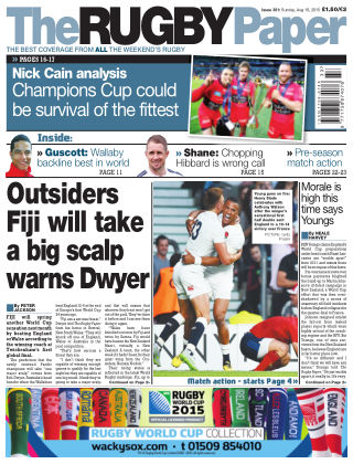 The Rugby Paper 16th August 2015