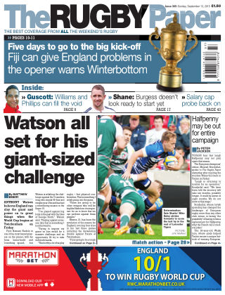 The Rugby Paper 13th September 2015