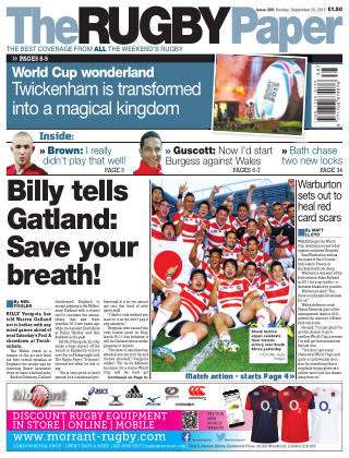 The Rugby Paper 20th September 2015