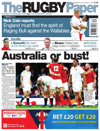 The Rugby Paper 27th September 2015
