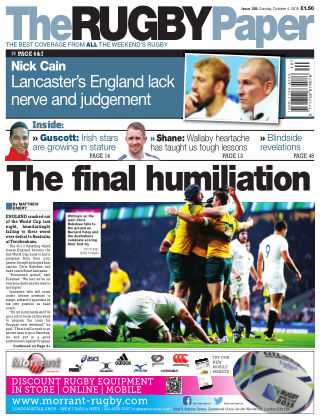 The Rugby Paper 4th October 2015