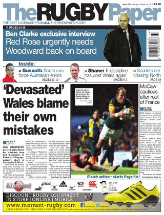 The Rugby Paper 18th October 2015
