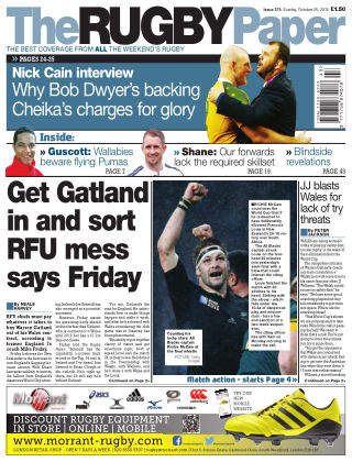 The Rugby Paper 25th October 2015
