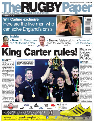 The Rugby Paper 1st November 2015