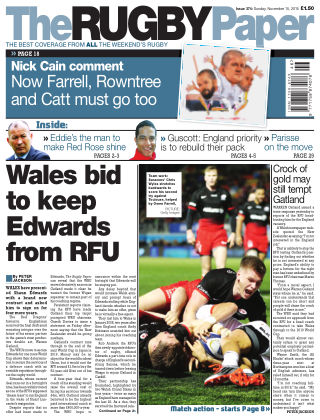 The Rugby Paper 15th November 2015