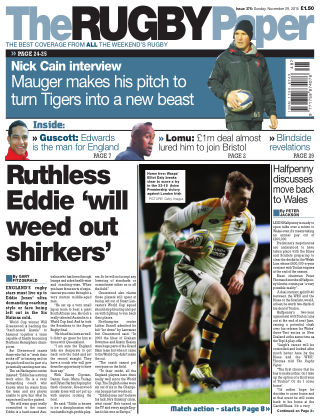The Rugby Paper 29th November 2015