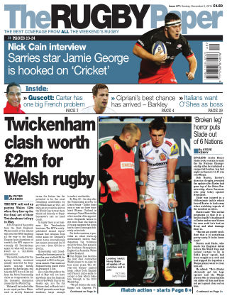 The Rugby Paper 6th December 2015