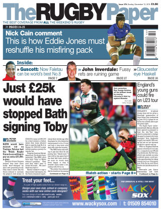 The Rugby Paper 13th December 2015
