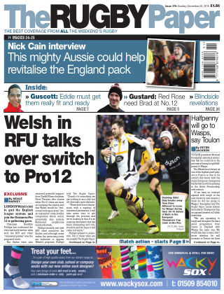 The Rugby Paper 20th December 2015