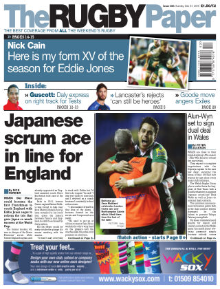 The Rugby Paper 27th December 2015