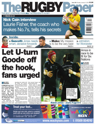 The Rugby Paper 3rd January 2016