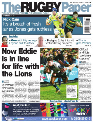 The Rugby Paper 17th January 2016