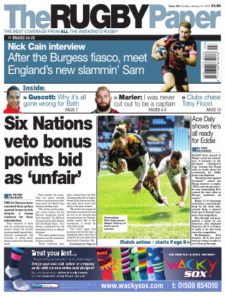 The Rugby Paper 24th January 2016