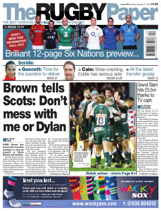 The Rugby Paper 31st January 2016