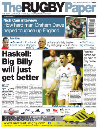 The Rugby Paper 7th February 2016
