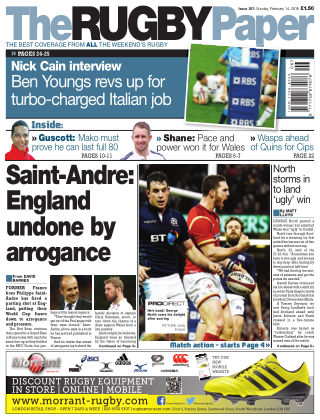 The Rugby Paper 14th February 2016