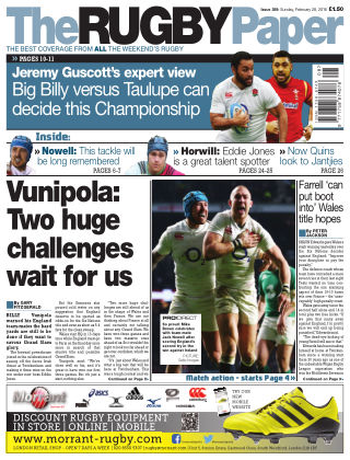 The Rugby Paper 28th February 2016