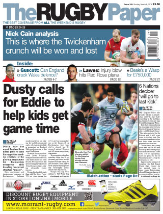 The Rugby Paper 6th March 2016
