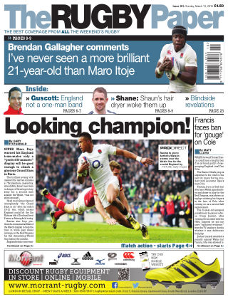 The Rugby Paper 13th March 2016