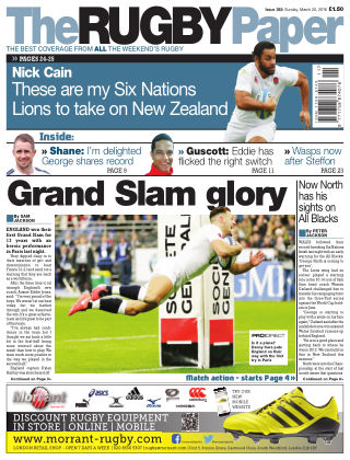 The Rugby Paper 20th March 2016