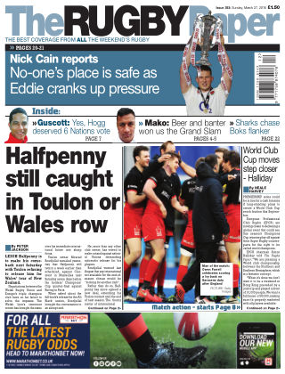 The Rugby Paper 27th March 2016