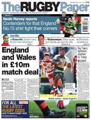 The Rugby Paper 3rd April 2016