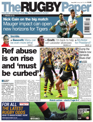 The Rugby Paper 10th April 2016