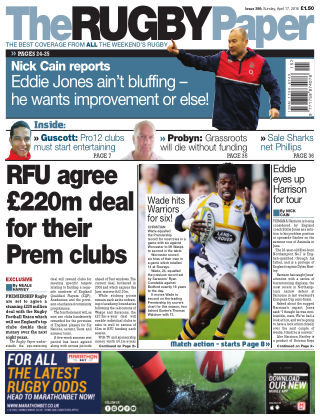 The Rugby Paper 16th April 2016