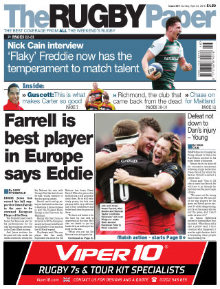 The Rugby Paper 24th April 2016