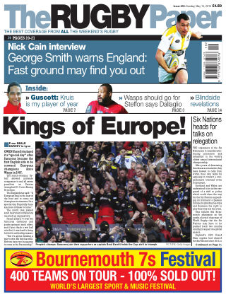 The Rugby Paper 15th May 2016