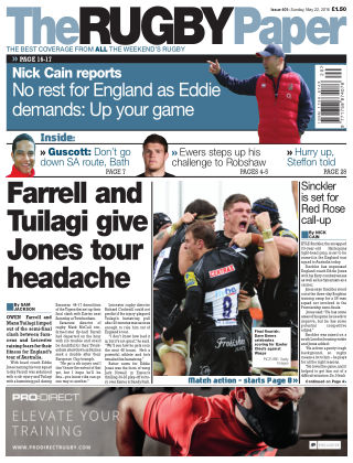 The Rugby Paper 22nd May 2016