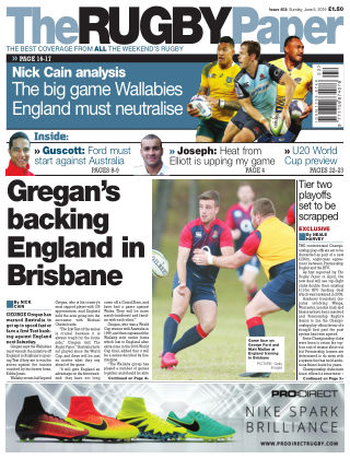 The Rugby Paper 5th June 2016