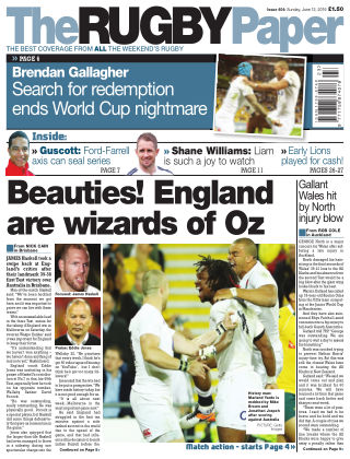 The Rugby Paper 12th June 2016