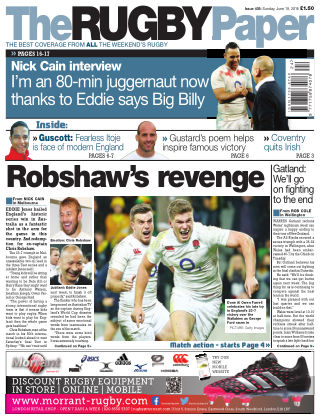 The Rugby Paper 19th June 2016