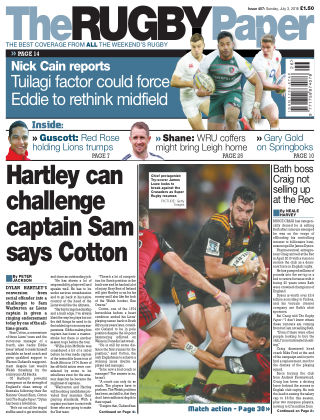 The Rugby Paper 3rd July 2016